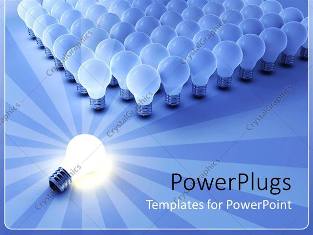 PowerPoint Template Displaying the Importance of Light