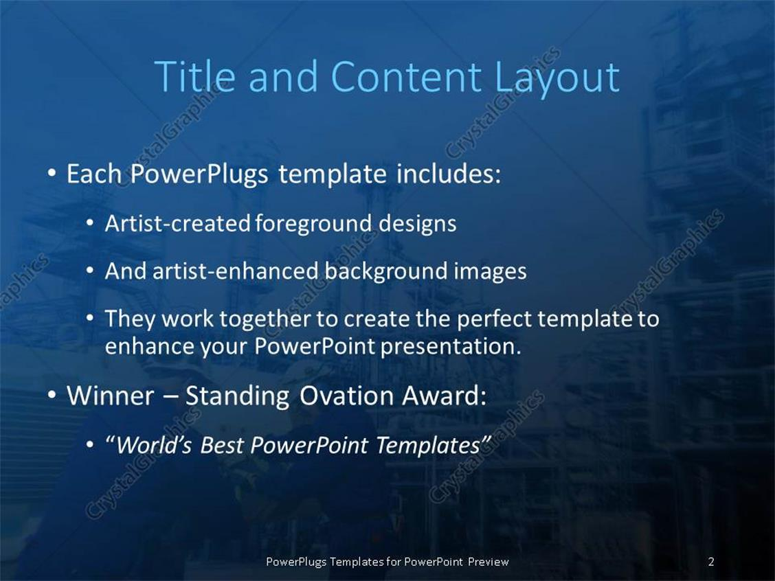 Powerpoint template engineering choice image templates example powerpoint template industrial plant in background with engineers powerpoint products templates secure alramifo choice image toneelgroepblik Gallery