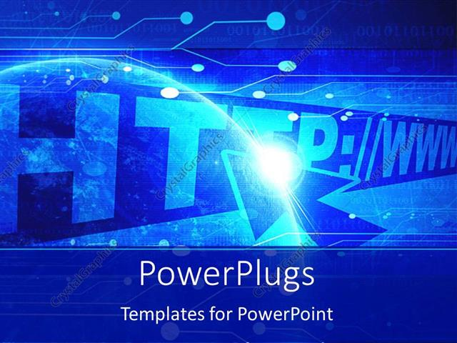 Powerpoint template internet theme with address bar and address powerpoint template displaying internet theme with address bar and address inserted and cursor over http toneelgroepblik Gallery