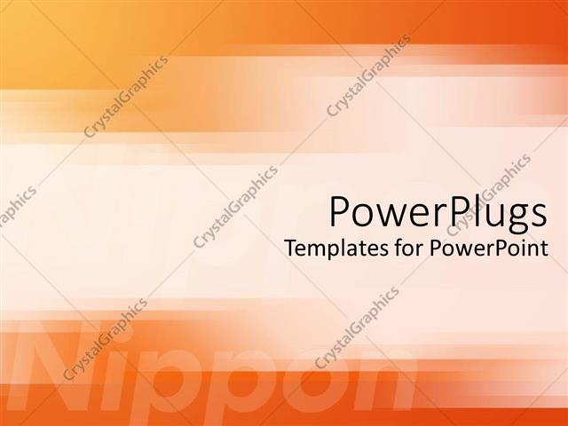 Powerpoint template japanese technology motif with orange and powerpoint template displaying japanese technology motif with orange and yellow ombre background toneelgroepblik Gallery