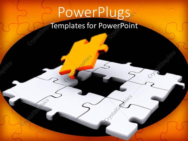 Powerpoint template a jigsaw puzzle missing a piece 18431 powerpoint template displaying a jigsaw puzzle missing a piece toneelgroepblik Images