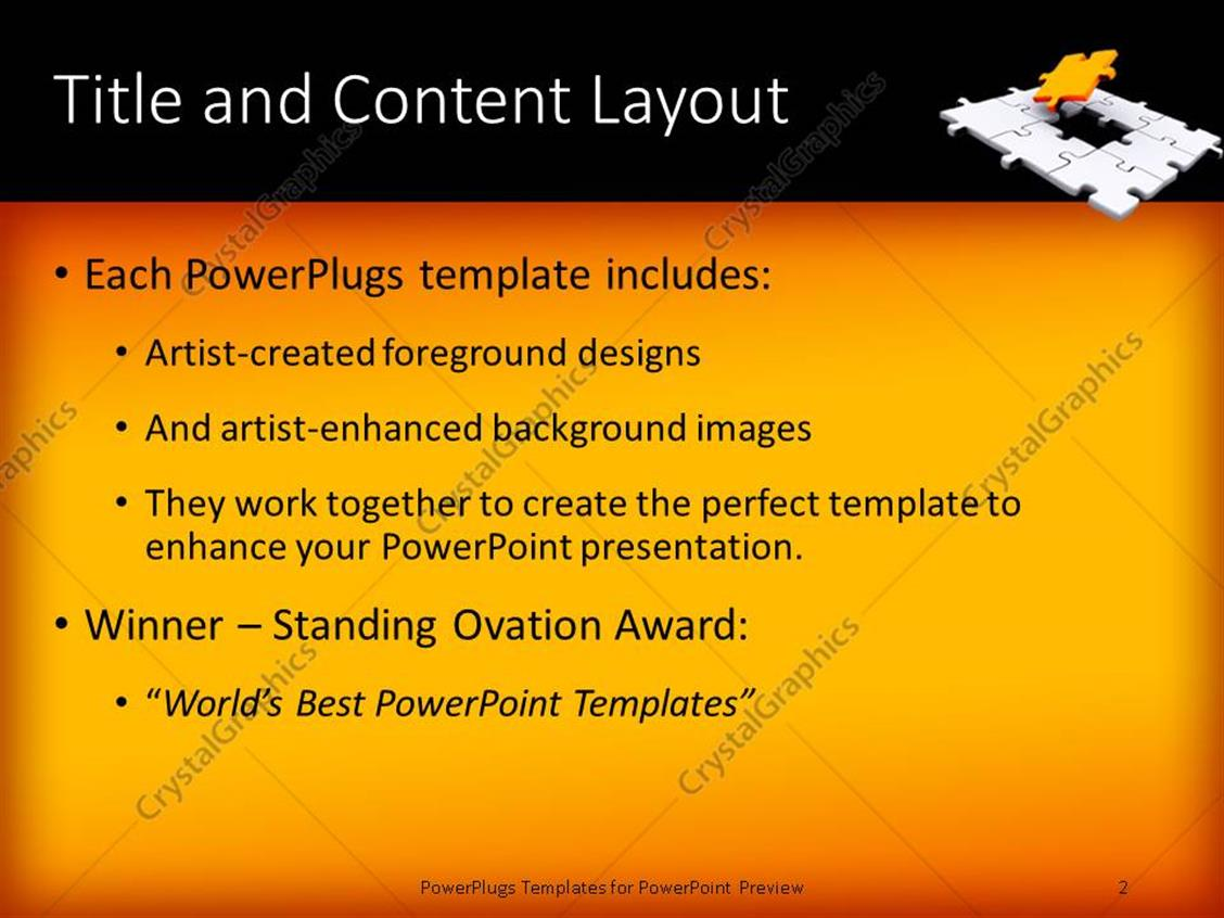 Powerpoint template a jigsaw puzzle missing a piece 18431 powerpoint products templates secure toneelgroepblik Images