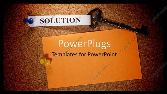 Powerpoint template a beautiful background with a key 18172 powerpoint template displaying a beautiful background with a key toneelgroepblik Image collections