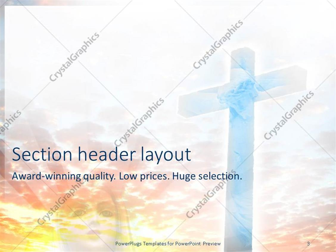 Generous jesus powerpoint templates pictures inspiration resume powerpoint template large cross with jesus christ image on a toneelgroepblik Choice Image