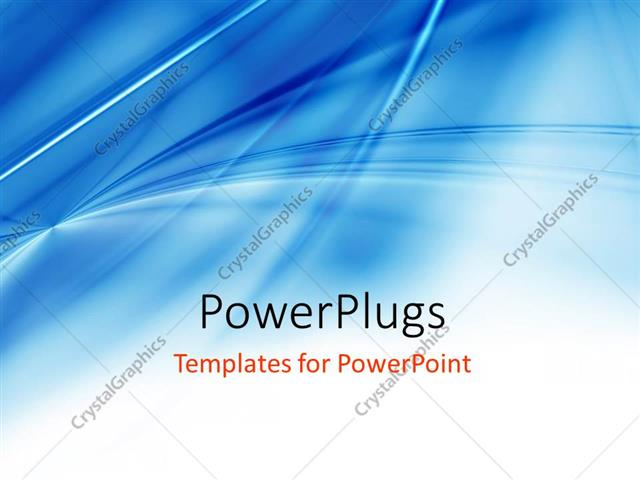 Powerpoint Template Light Blue Background With Gradient And Blend