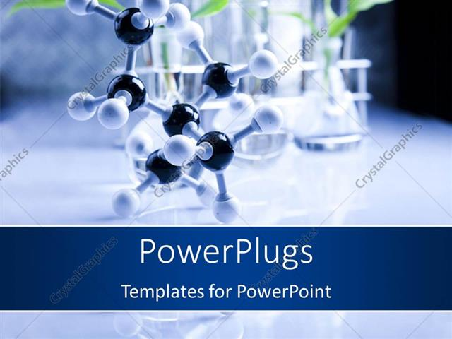 Powerpoint template a long black nd white molecule on a powerpoint template displaying a long black nd white molecule on a laboratory setting toneelgroepblik Gallery