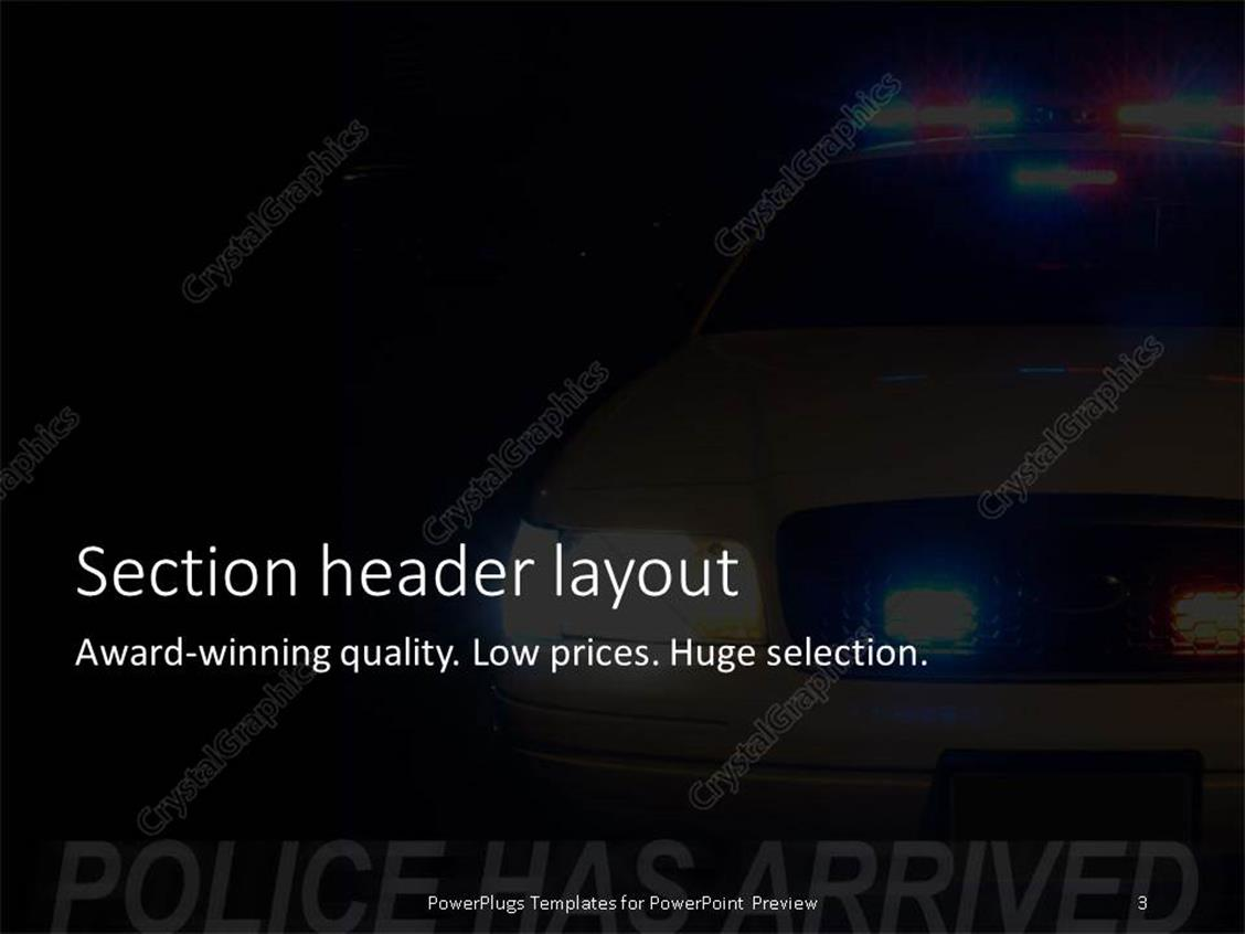 Police powerpoint templates images templates example free download amazing law enforcement powerpoint templates contemporary entry powerpoint template long exposure to capture the full array alramifo Image collections