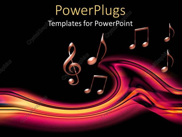 Powerpoint template lots of pink musical notes on a black powerpoint template displaying lots of pink musical notes on a black background toneelgroepblik Images