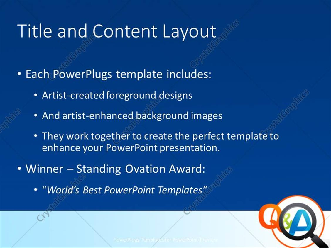 Powerpoint template magnifying glass with question and answer powerpoint products templates secure alramifo Choice Image