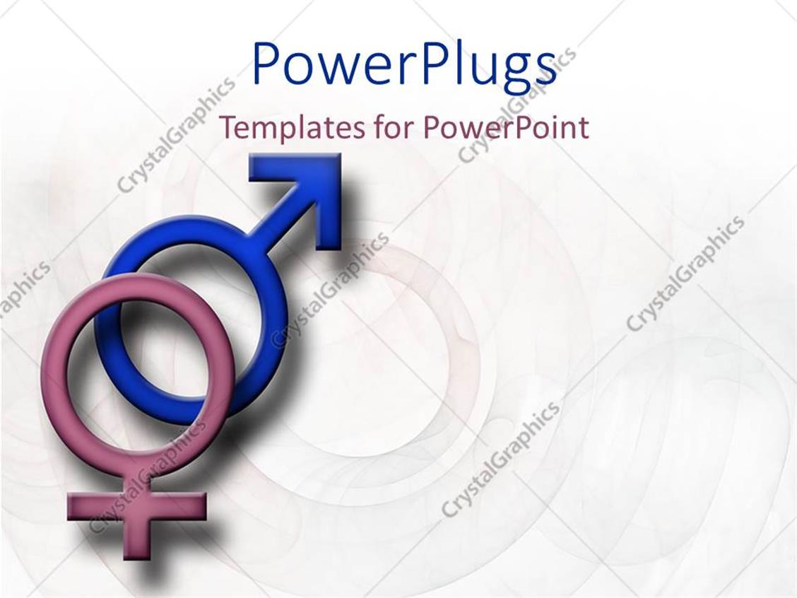 Powerpoint template male and female symbols on a faded patterned powerpoint template displaying male and female symbols on a faded patterned background buycottarizona