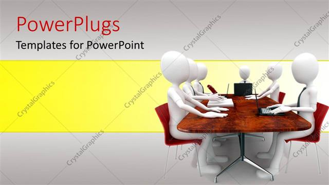 Powerpoint template a number of figures sitting for a meeting 28804 powerpoint template displaying a number of figures sitting for a meeting toneelgroepblik Choice Image