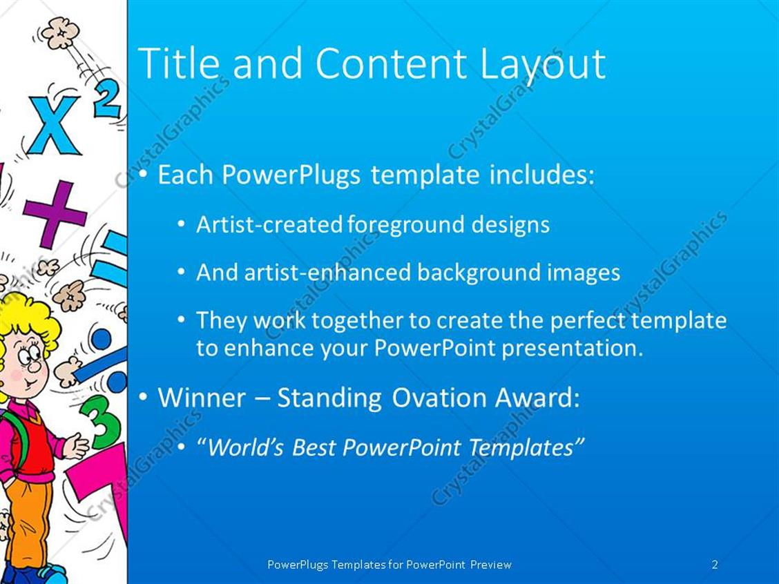 Powerpoint template math related symbols and the word mathematics powerpoint products templates secure biocorpaavc