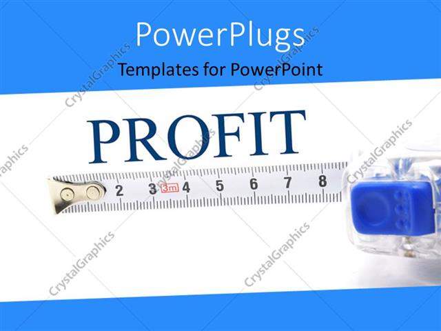Powerpoint template measuring tape for determining success rate powerpoint template displaying measuring tape for determining success rate over white background with toneelgroepblik
