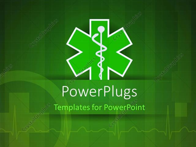 Powerpoint template medical caduceus with nice ecg wave in the powerpoint template displaying medical caduceus with nice ecg wave in the background toneelgroepblik Choice Image