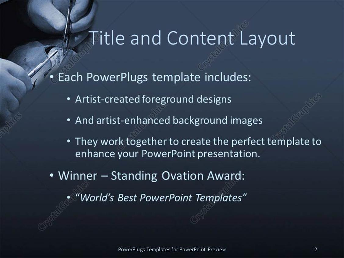 Powerpoint template medical doctor hands doing suture during powerpoint products templates secure toneelgroepblik Images