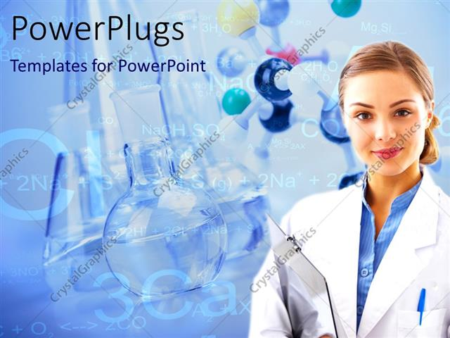 Powerpoint template medical laboratory scientist with beakers and powerpoint template displaying medical laboratory scientist with beakers and laboratory equipments in toneelgroepblik Image collections