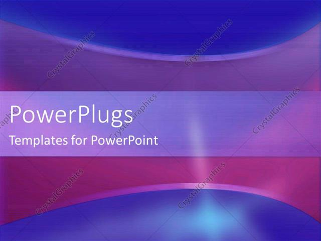 Powerpoint Template A Mixture Of Blue And Purple Background With