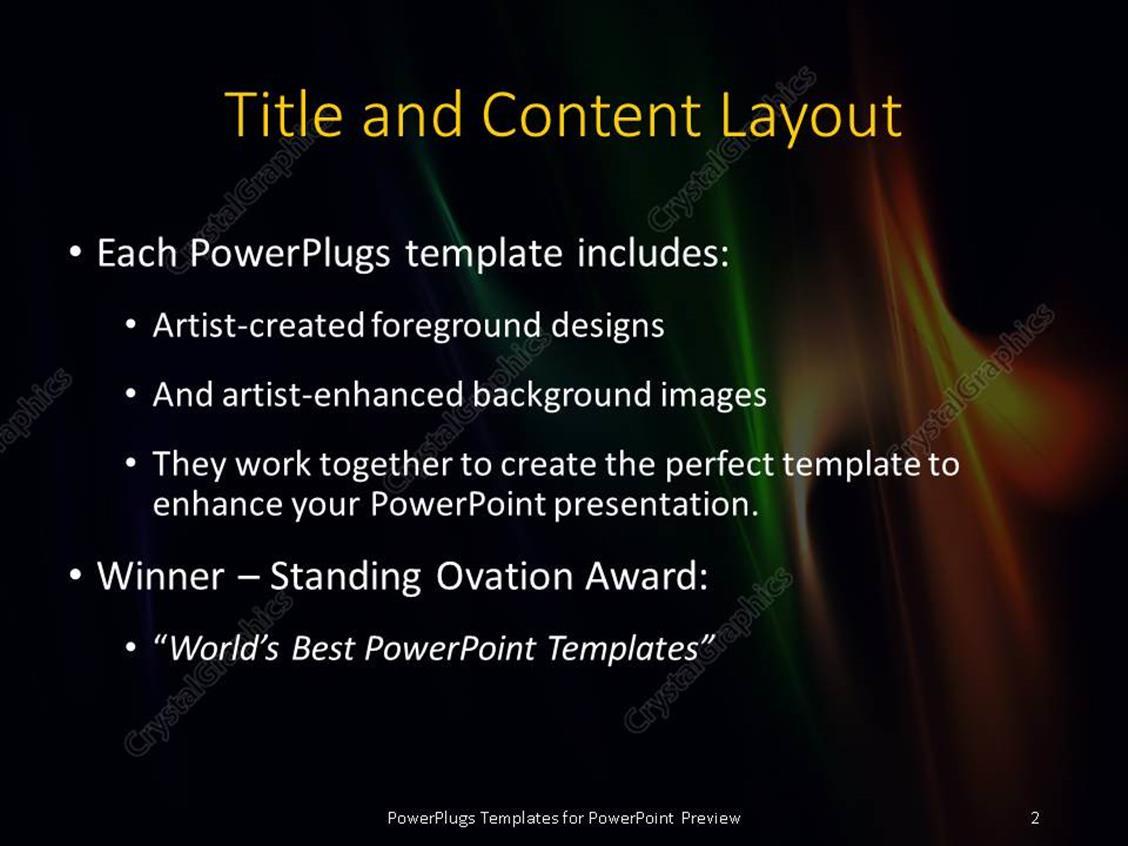 Powerpoint template multi color elegant flames with black color 901 powerpoint products templates secure toneelgroepblik Images