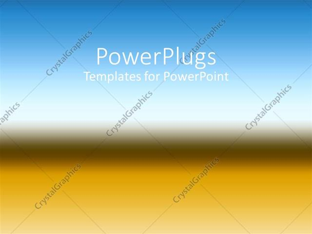 PowerPoint Template Displaying a Multicolored Background with Place for Text