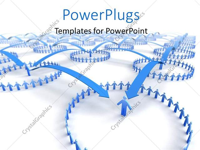 Powerpoint template network of business teams with arrow joining powerpoint template displaying network of business teams with arrow joining teams together ccuart Gallery