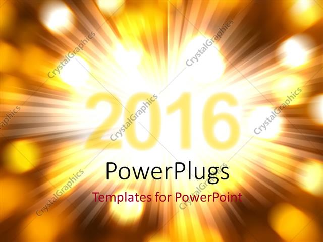 Powerpoint template new year 2016 with glowing rays and lights from powerpoint template displaying new year 2016 with glowing rays and lights from the background toneelgroepblik Gallery