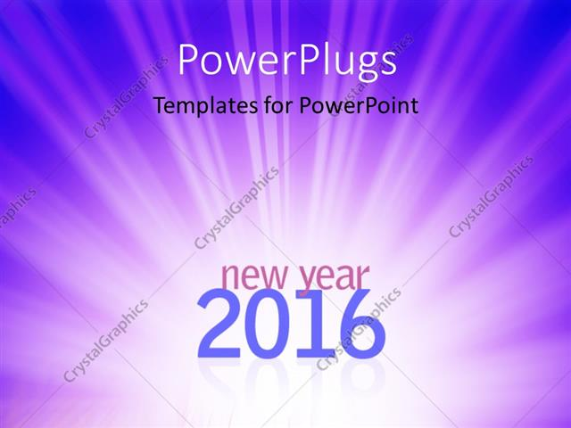 Powerpoint template new year 2016 text on abstract blue rays powerpoint template displaying new year 2016 text on abstract blue rays background toneelgroepblik Gallery