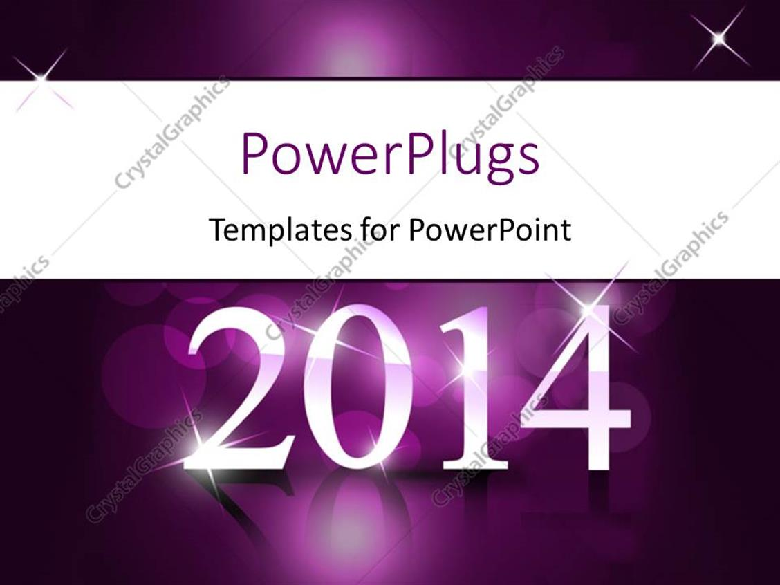 Powerpoint template new year depiction with year 2014 on reflective powerpoint template displaying new year depiction with year 2014 on reflective purple surface toneelgroepblik Gallery