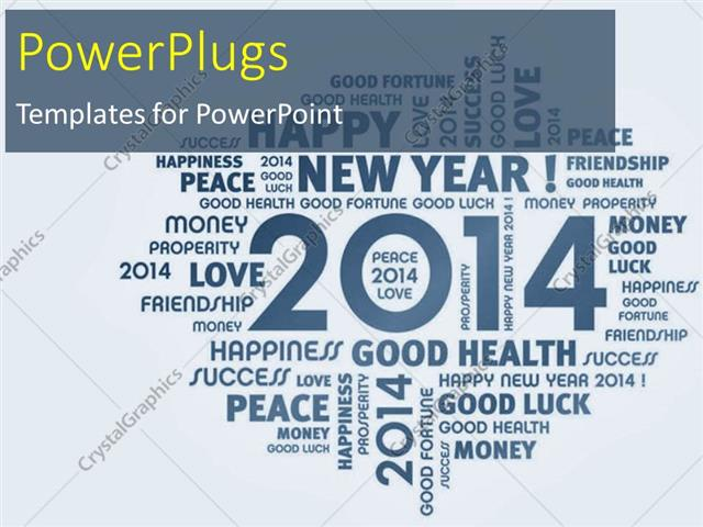 Powerpoint template new year depictions with wishes in light blue powerpoint template displaying new year depictions with wishes in light blue background toneelgroepblik Gallery