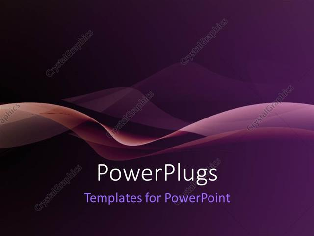 Powerpoint template nice smooth waves with purple color 952 powerpoint template displaying nice smooth waves with purple color toneelgroepblik Image collections