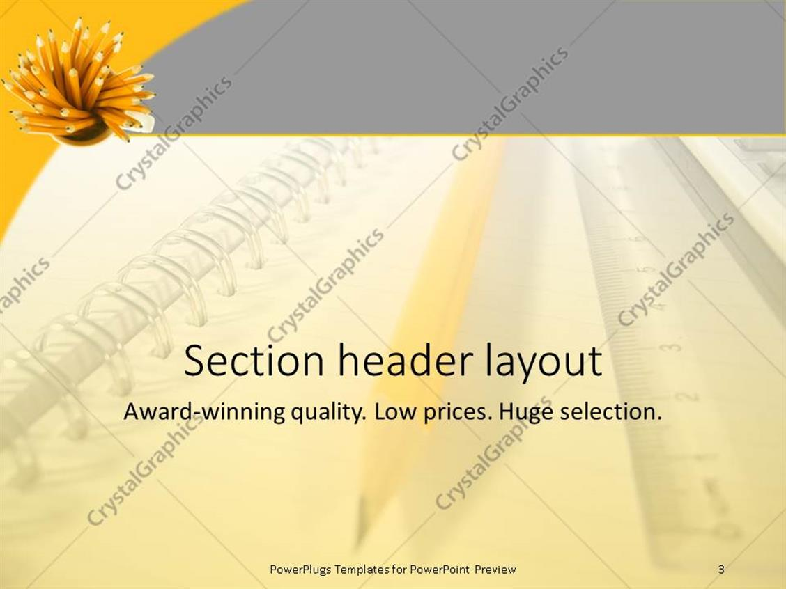 Powerpoint math templates image collections templates example powerpoint template notepad with big yellow pencil ruler and powerpoint products templates secure alramifo image collections alramifo Images