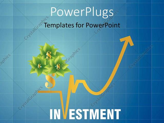 Powerpoint template a number of flowers with dollar sign and bluish powerpoint template displaying a number of flowers with dollar sign and bluish background toneelgroepblik Gallery