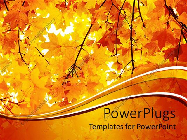 Powerpoint template a number of yellow leaves during the fall powerpoint template displaying a number of yellow leaves during the fall season toneelgroepblik Images