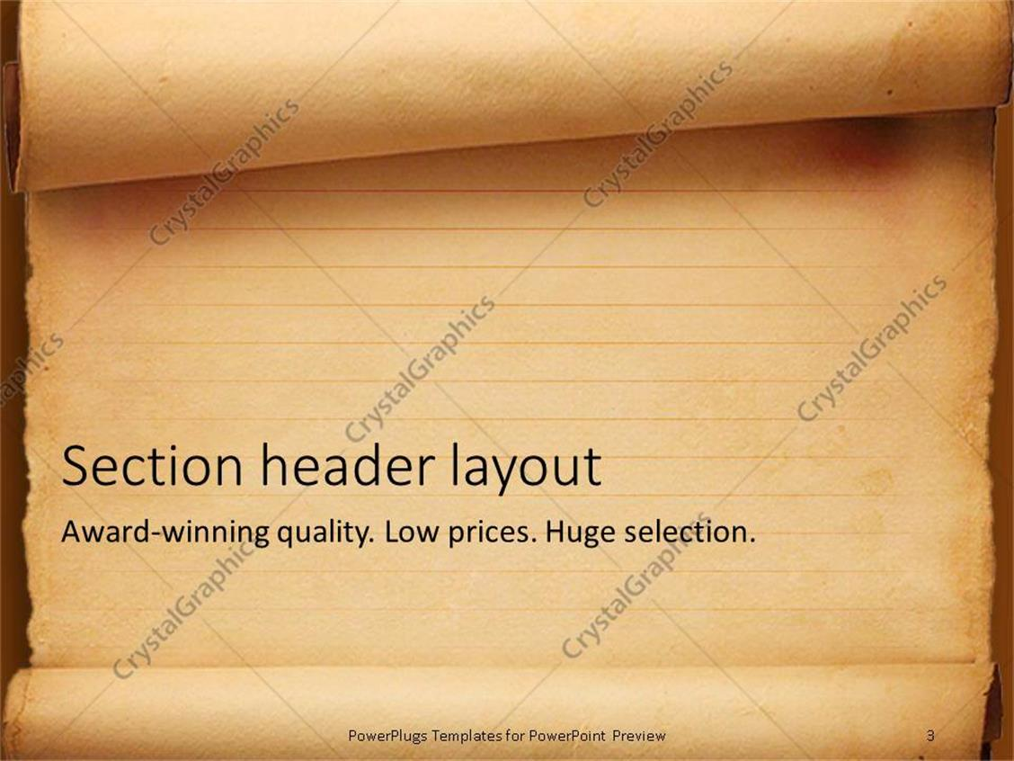 Generous old paper powerpoint template photos entry level resume powerpoint templates old fashioned images powerpoint template and toneelgroepblik Images