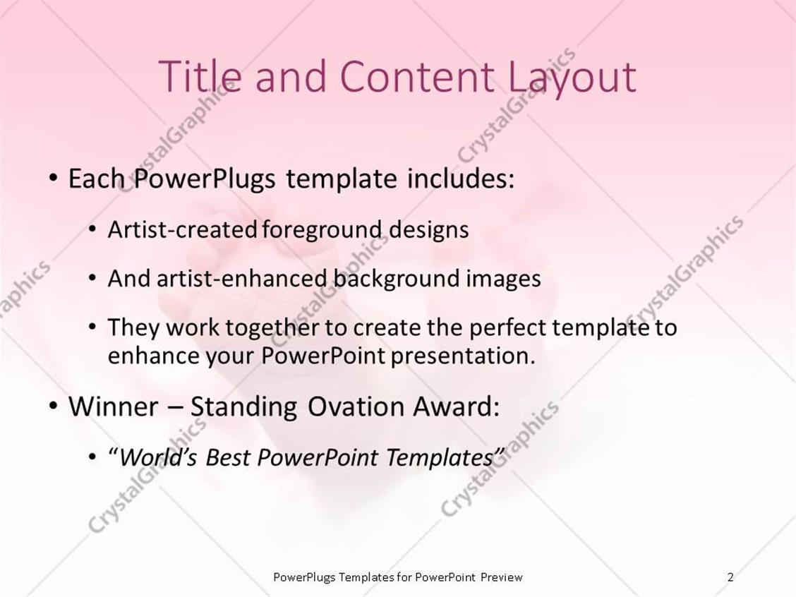 Powerpoint template a pair of baby feet on a pink background 21938 powerpoint products templates secure toneelgroepblik Images