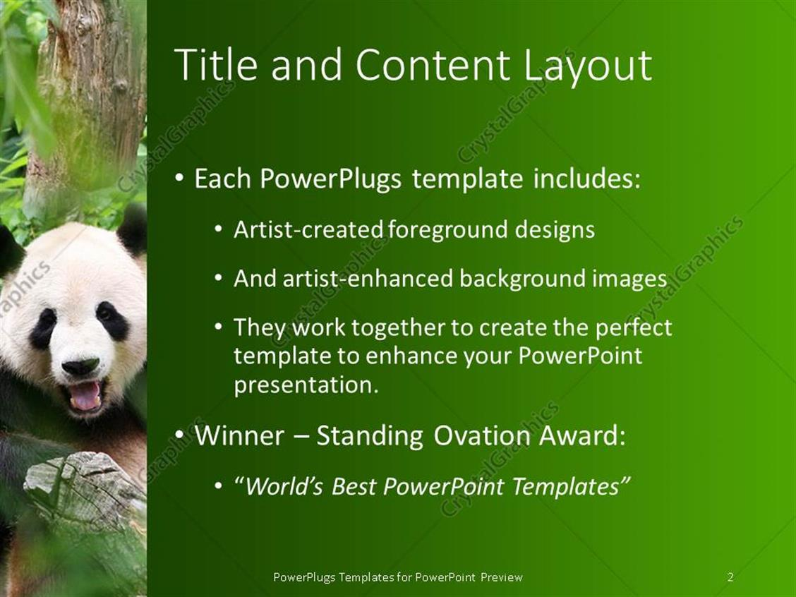 Powerpoint template panda is smiling in a zoo surrounded by powerpoint products templates secure toneelgroepblik Gallery