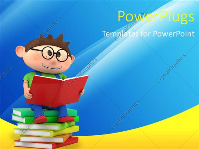 Powerpoint template a person reading while sitting on a bundle of powerpoint template displaying a person reading while sitting on a bundle of books toneelgroepblik Images