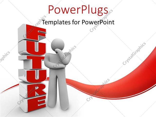 Crystalgraphics free powerpoint templates awesome graphic library powerpoint template a person thinking of the future with white rh powerpoint crystalgraphics com toneelgroepblik Images