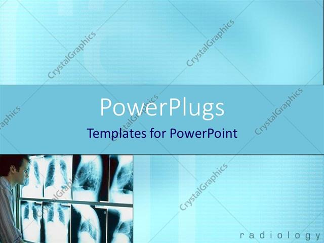 Powerpoint template physician doctor examining x ray depictions powerpoint template displaying physician doctor examining x ray depictions placed on screen on bright toneelgroepblik Gallery