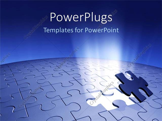 Powerpoint template piece of puzzle missing problem and solution powerpoint template displaying piece of puzzle missing problem and solution business planning blue toneelgroepblik Images
