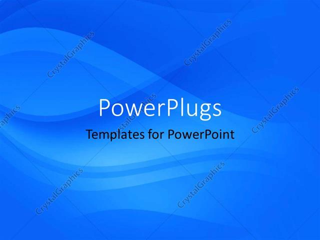 powerpoint template a plain abstract depiction of a blue colored