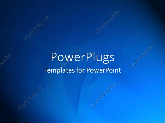 Powerpoint Template Plain Blue Abstract Patterns On Black 13453