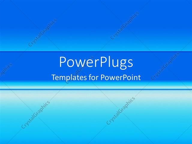 Powerpoint Template Plain Blue Gradient Fading From Dark To Light 212