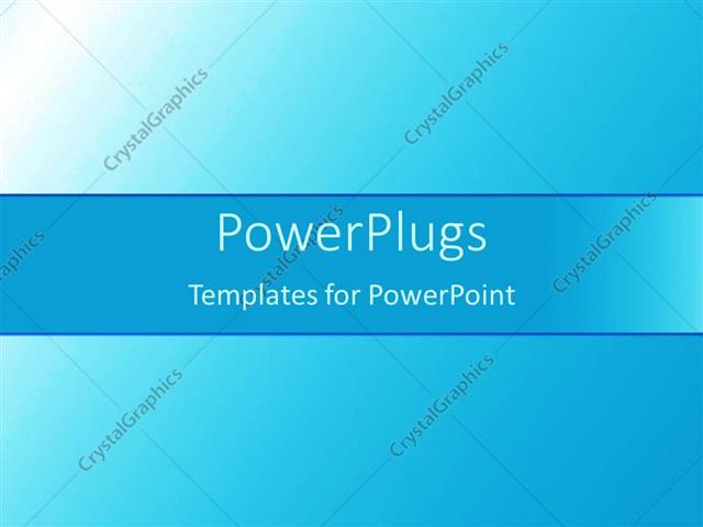 Powerpoint Template Plain Blue And White Background Tile With