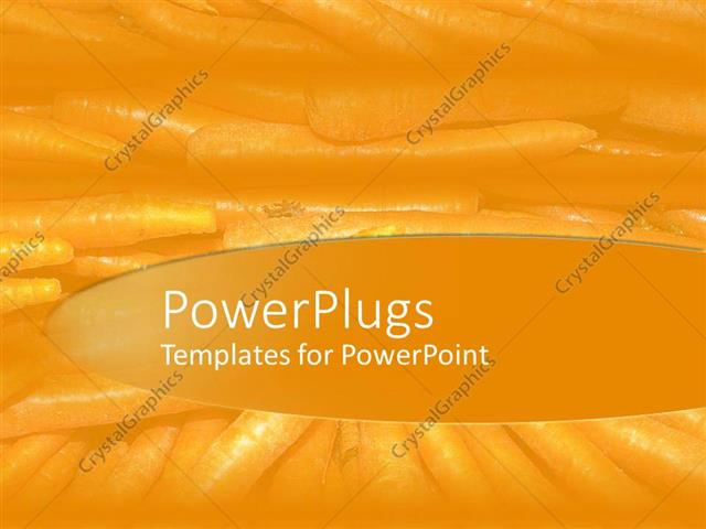 Powerpoint template plain clear yellow colored background theme powerpoint template displaying plain clear yellow colored background theme with lots of faint carrots toneelgroepblik Images