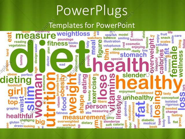 Powerpoint template a plain green colored tile with lots of texts powerpoint template displaying a plain green colored tile with lots of texts relating to health toneelgroepblik Choice Image