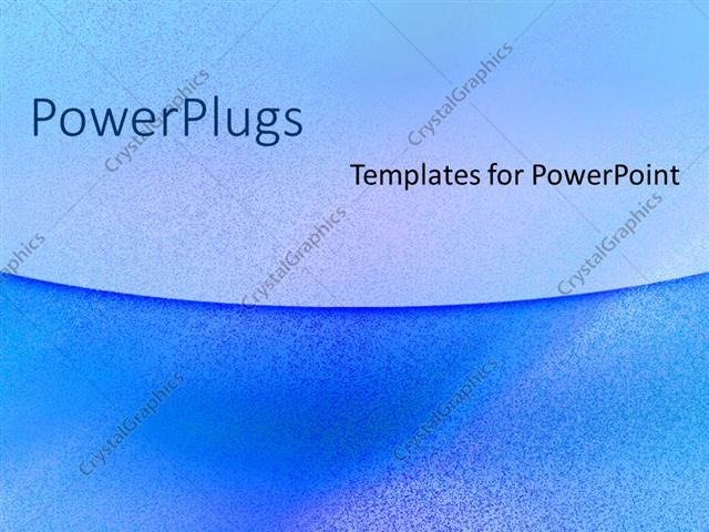 powerpoint template plain navy and sky blue colored background with