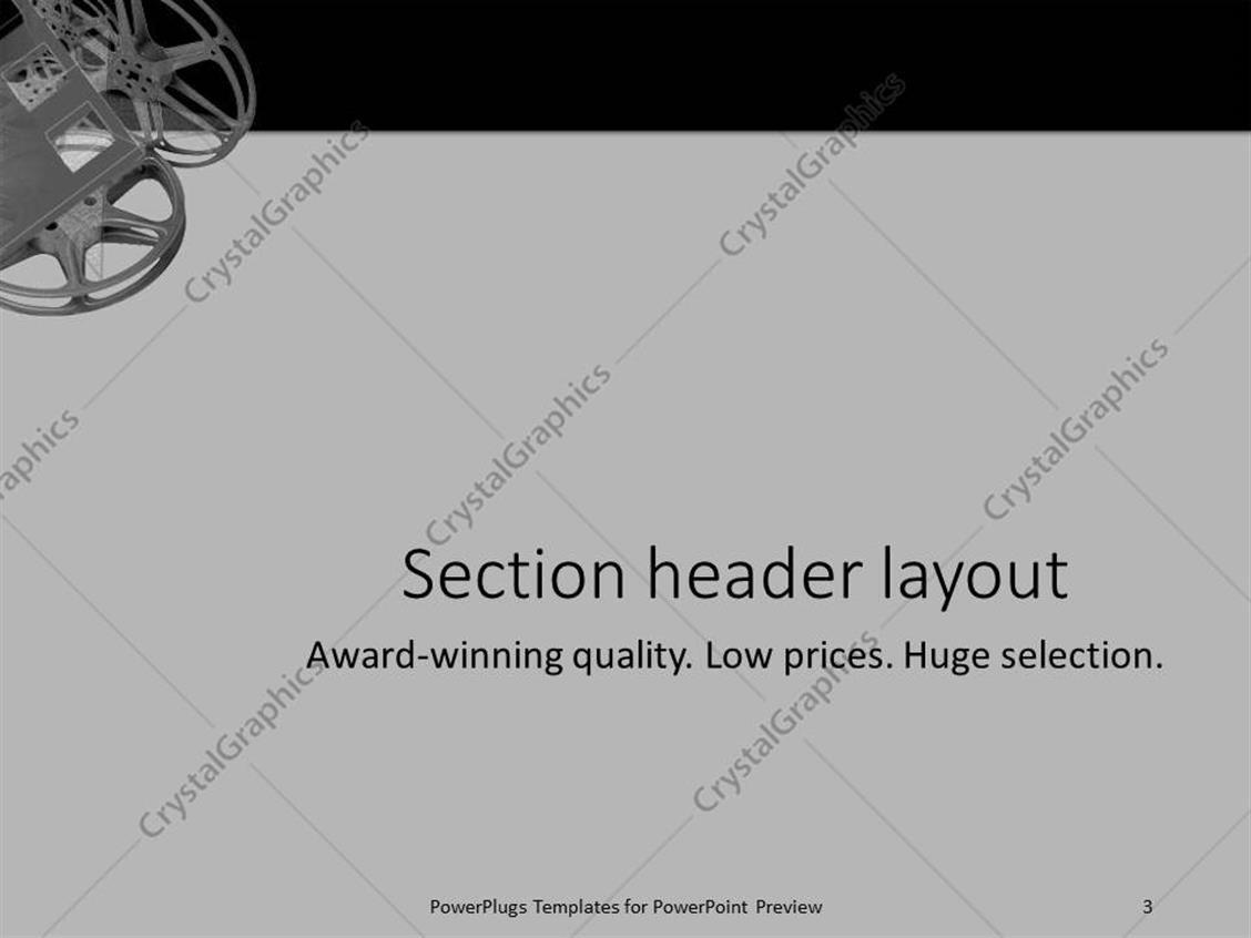 PowerPoint Template: a plain off white background surface tile ...