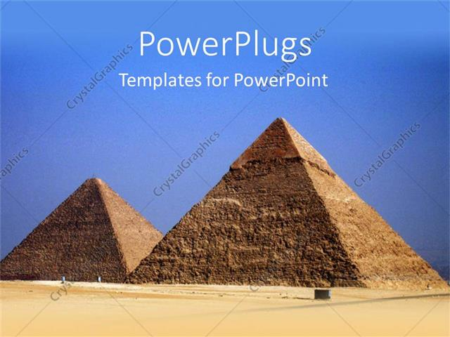 Powerpoint template the pyramids of the egypt with sky in the powerpoint template displaying the pyramids of the egypt with sky in the background toneelgroepblik Images
