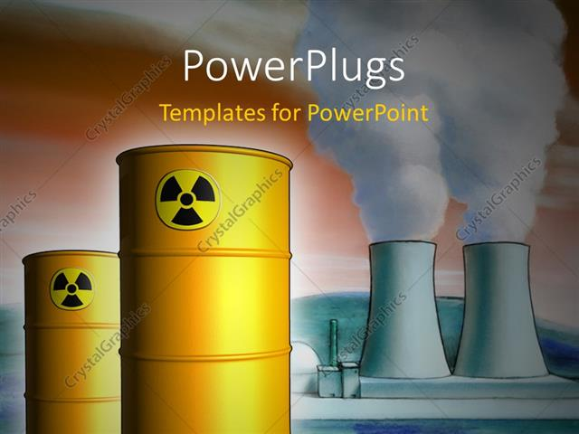 Powerpoint template radioactive waste from a nuclear power plant powerpoint template displaying radioactive waste from a nuclear power plant toneelgroepblik Images