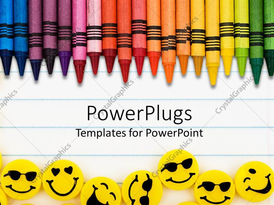 powerpoint notebook paper template lined paper ppt backgrounds